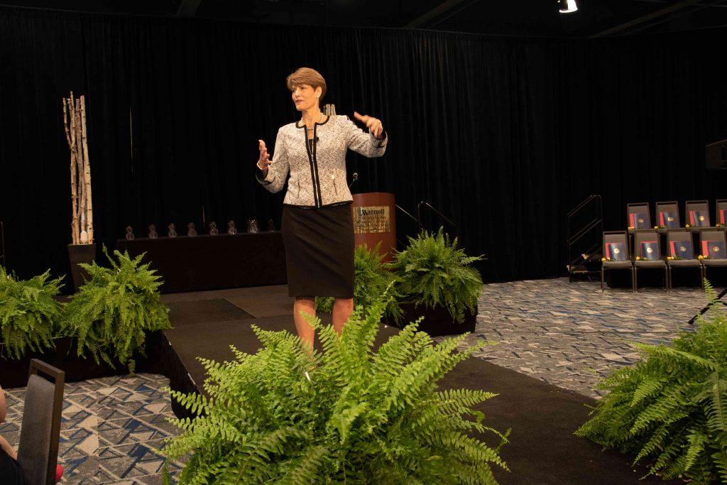 Guest speaker, Gigi Woodruff